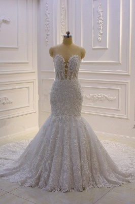 Meerjungfrau Kleid Hochzeitskleid | Brautkleider Spitze_3