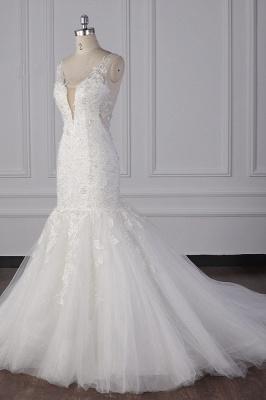 Wunderschöne Brautkleid Meerjungfrau | Hochzeitskleid Spitze Online_4