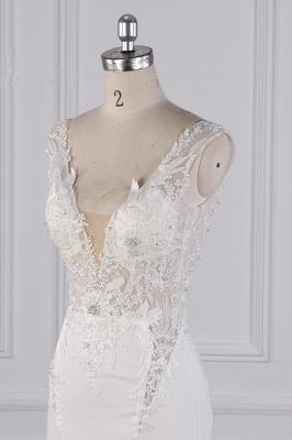 Schlichte Brautkleid Meerjungfrau | Hochzeitskleider Günstig Online_5