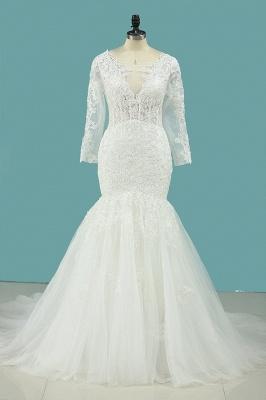 Hochzeitskleid Umstandsmode   Brautkleid Meerjungfrau Spitze_1