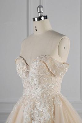 Elegante Brautkleider Prinzessin | Hochzeitskleid Lange Ärmel_6