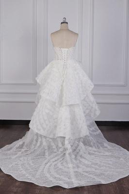 Hochzeitskleid A Linie | Brautkleid Vorne Kruz Lange Hinter_6