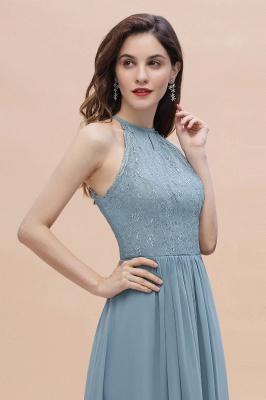 Brautjungfernkleider Lang Blau | Hochzeitspartykleider Günstig Kaufen_10