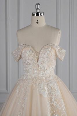 Elegante Brautkleider Prinzessin | Hochzeitskleid Lange Ärmel_5