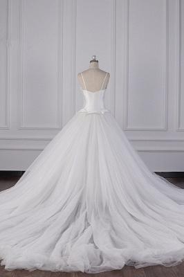 Hochzeitskleider Prinzessin Luxus   Tüll Brautkleid Umstandsmode_7