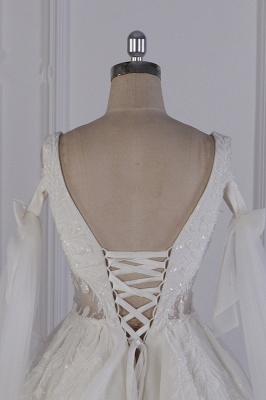 Prinzessin Brautkleider Lang Ärmel | Hochzeitskleider Spitze_7