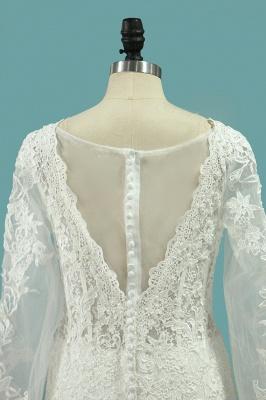 Hochzeitskleid Umstandsmode | Brautkleid Meerjungfrau Spitze_4