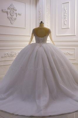 Hochzeitskleider Prinzessin Luxus   Hochzeitskleid Langarm Spitze_4
