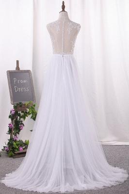 Hochzeitskleider Große Größen | Brautkleid A Linie_3