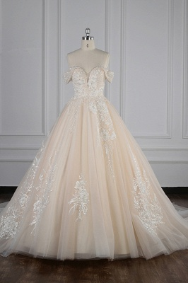 Elegante Brautkleider Prinzessin | Hochzeitskleid Lange Ärmel_2