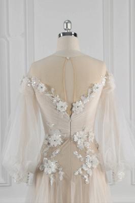 Hochzeitskleid Langarm Spitze | Brautkleider Online Kaufen_7