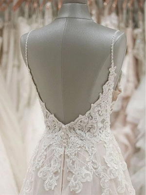 Schlichte Brautkleider A Linie | Hochzeitskleider Online Bestellen_3