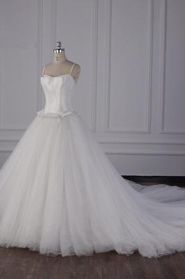 Hochzeitskleider Prinzessin Luxus   Tüll Brautkleid Umstandsmode_4