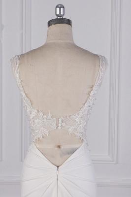 Schlichte Brautkleid Meerjungfrau | Hochzeitskleider Günstig Online_7