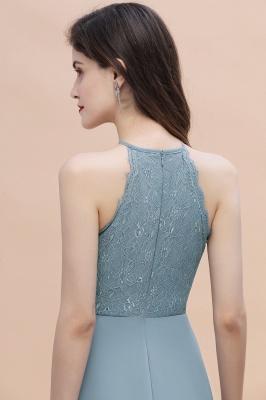 Brautjungfernkleider Lang Blau | Hochzeitspartykleider Günstig Kaufen_9