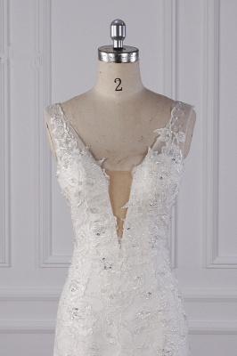 Wunderschöne Brautkleid Meerjungfrau   Hochzeitskleid Spitze Online_3
