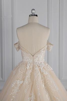 Elegante Brautkleider Prinzessin | Hochzeitskleid Lange Ärmel_7