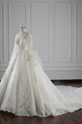 Brautkleider Lang Ärmel | Hochzeitskleid Spitze_4