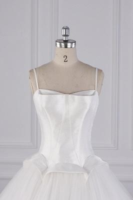 Hochzeitskleider Prinzessin Luxus   Tüll Brautkleid Umstandsmode_3