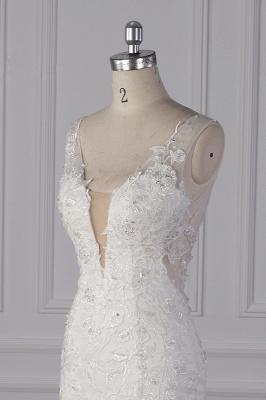Wunderschöne Brautkleid Meerjungfrau   Hochzeitskleid Spitze Online_5