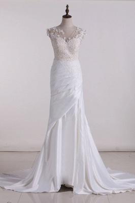 Hochzeitskleid Schlicht | Brautkleid meerjungfrau_1