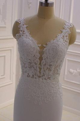 Brautkled Mit Spitze | Hochzeitskleider Meerjungfrau_6