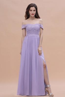 Schicke Brautjungfernkleider Lavender | Brautjungfernkleid Günstig_6