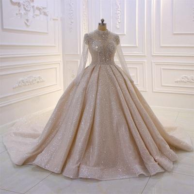 Hochzeitskleider Prinzessin Luxus   Brautkleider Mit Ärmel_4