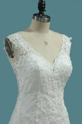 Umstands Hochzeitskleid Meerjungfrau | Brautkleid Spitze Online_2