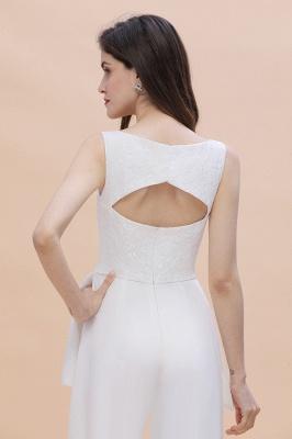 Jumpsuit Brautjungfernkleider Weiß | Kleider für Brautjungfern_8