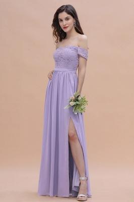 Schicke Brautjungfernkleider Lavender | Brautjungfernkleid Günstig_7