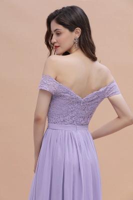 Schicke Brautjungfernkleider Lavender | Brautjungfernkleid Günstig_11