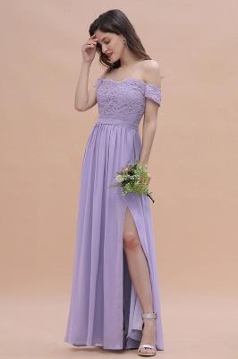 Schicke Brautjungfernkleider Lavender | Brautjungfernkleid Günstig_5