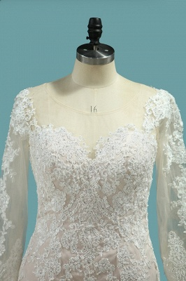 Elegante Brautkleider Meerjungfrau | Hochzeitskleider Mit Ärmel_3