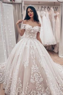 Luxus Brautkleider Prinzessin | Spitze Hochzeitskleider Online Kaufen_2