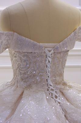 Hochzeitskleider Standesamt für Mollige | Brautkleider Prinzessin Luxus_6