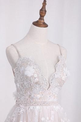 Brautkleid A Linie   Hochzeitskleider Spitze Günstig_3