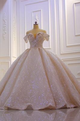 Hochzeitskleider Standesamt für Mollige | Brautkleider Prinzessin Luxus_2