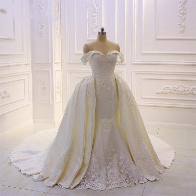 Designer Brautkleid Mit Ärmel | Extravagante Hochzeitskleider_1