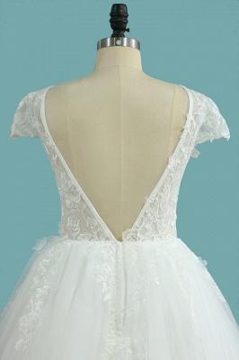 Elegante Hochzeitskleid A Linie   Günstige Brautkleider_4