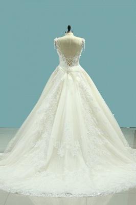 Brautmode Schlicht Elegant | Hochzeitskleider Prinzessin_4