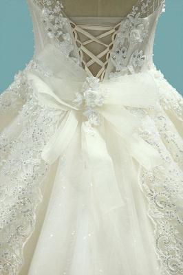 Brautmode Schlicht Elegant | Hochzeitskleider Prinzessin_5