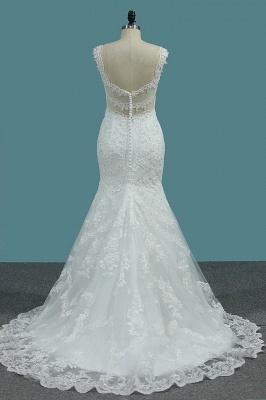 Umstands Hochzeitskleid Meerjungfrau | Brautkleid Spitze Online_3