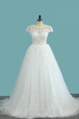 Elegante Hochzeitskleid A Linie   Günstige Brautkleider_1
