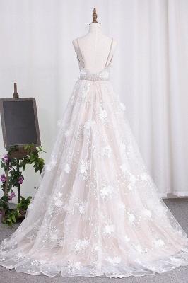Brautkleid A Linie   Hochzeitskleider Spitze Günstig_2
