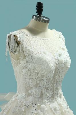 Brautmode Schlicht Elegant | Hochzeitskleider Prinzessin_3