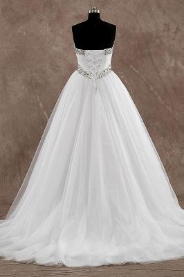 Schlichte Brautkleider A Linie | Hochzeitskleider Günstig Online_3