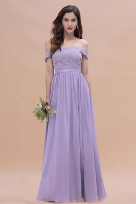 Schicke Brautjungfernkleider Lavender | Brautjungfernkleid Günstig_1