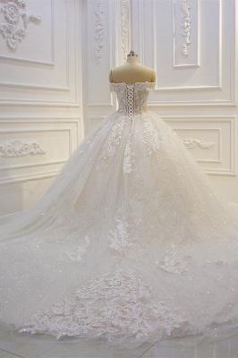 Günstige Hochzeitskleider Prinzessin | Brautkleid Spitze Online_5