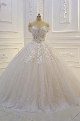 Günstige Hochzeitskleider Prinzessin | Brautkleid Spitze Online_2